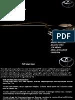 Toyota Presentation