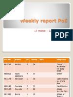 Weekly report Poli 23 maret 2018.pptx