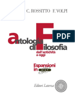 Antologia Della Filosofia