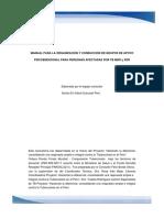 Manual Conducción Grupos de Apoyo TB MDR y XDR