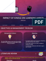 Impact of Kindles on Learning Habits ()