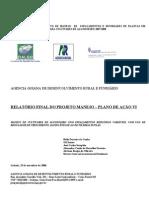 Relatório final   25 novembro de 2008 do Projeto  Fileiras Duplas,Senador Canedo 29out2008