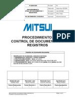 P-SSM-CDR Control de Documentos y Registros 2014