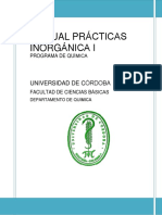 Manual Practicas Inorganica i