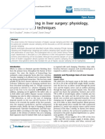 Chouillard2010- Vascular Clamping in Liver Surgery - Physiology, Indications and Techniques