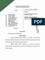 Jorge Salcedo Federal Indictment