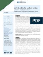 Rojas-Bernal LA, Castaño-Pérez GA, Restrepo-Bernal DP. Salud mental en Colombia. Un análisis crítico. Rev CES Med 2018; 32(2)