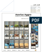Azorius Aggro by Harold Overbay Visual Deck View