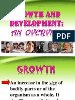 Growth&Development an Overview