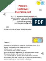 Explosivos parcial 1