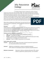QP2 IQA Sampling Strategy