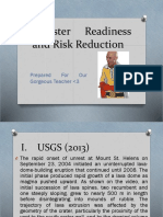 Disaster Readiness and Risk Reduction[1]