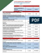 Agenda Manifestarilor Societatii Romane de Cardiologie