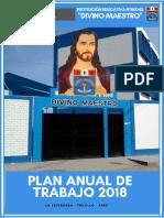 Plan Anual de Trabajo 2019 Divino Maestro Actualizado