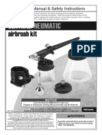 Central Pneumatic Air Brush Kit 62294