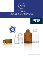 SGD-Pharma Type-I, Molded Glass Vials (Made-In-India)