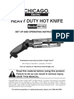 Chicago Electric Hot Knife 66182