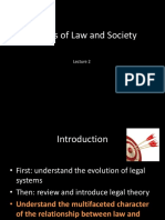 Theories of Law and Society (3)