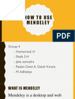 how to use mendeley 2.ppt