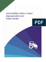 Informação sobre o Setor Agropecuario em Cabo Verde