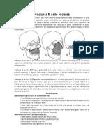 Fracturas Maxilo Faciales