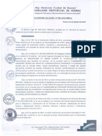 Resolucion de Alcaldia Huaraz