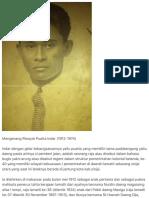 Mengenang Riwayat Puatta Indar (1912-1974)