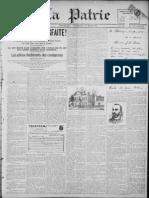 La Patrie (édition du soir) - 10 mars 1899.