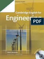 Cambridge English for Engineering