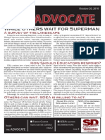 SDEA October 2010 Advocate for Website