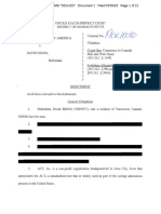Sidoo Redacted Indictment