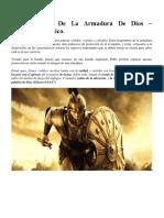 Características De La Armadura De Dios.docx