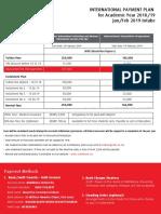 Payment plan mdx