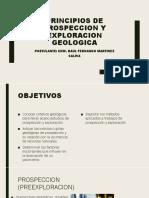 Principios de Prospeccion y Exploracion Geologica