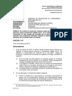 Sanciones 2013 Constructora Galilea Perú