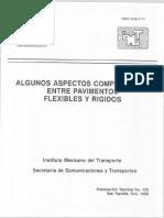 Algunos Aspectos Comparativos Entre Pavimentos Rigidos y Flexibles