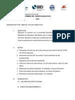 plantilla para plan de mantenimiento escolar rep de nicaragua