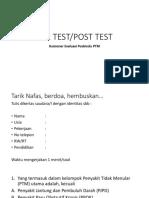 Pre Post Test