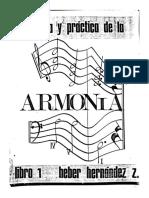 Teoría y Práctia de La Armonía Heber Hernández