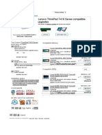 RAM & SSD Upgrades _ Lenovo ThinkPad T410 Series _ Crucial EU