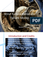 Root cause Analysis for wind generators