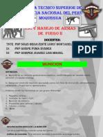 Uso y Manejo de Armas de Fuego II - 1- 2019