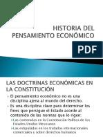 Constitución y Pensamiento Económico