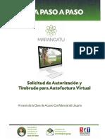 Guia paso a paso Nuevo Marangatu - Solicitud de Autorización y Timbrado para Autofactura Virtual.pdf