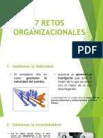 RETOS ORGANIZACIONALES