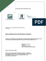 RelatórioJR5  Final do Projeto Manejo 2005 2006 14dez2006 Junior
