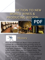 Introduction to New World Wines & Producing Region