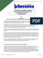 Acheronta 14 - Las instituciones psicoanalíticas en México (un análisis sobre la formación de analisas y sus mecanismos de regulación) - Capítulo I