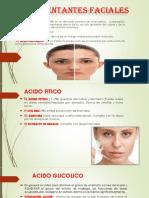 Despigmentantes faciales