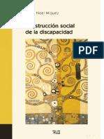 CONSTRUCCION SOCIAL  DE LA DISCAPACIDAD